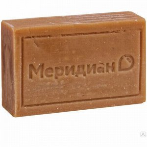 Мыло хозяйственное 72%, 150 г (Меридиан), без упаковки