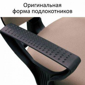"""Кресло BRABIX """"Prestige Ergo MG-311"""", регулируемая эргономичная спинка, кожзам, черное, 531877"""