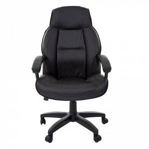"""Кресло офисное BRABIX """"Formula EX-537"""", экокожа, черное, 531388"""