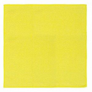 Салфетки универсальные, КОМПЛЕКТ 5 шт., микрофибра, 30х30 см (фиолетовая, синяя, желтая, зеленая, оранжевая), ЛЮБАША, 603942