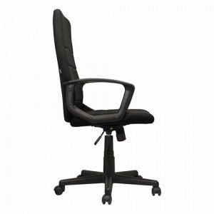 """Кресло офисное BRABIX """"Focus EX-518"""", ткань, черное, 531575"""