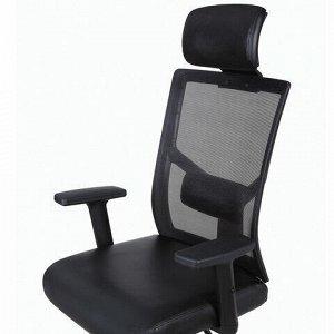 """Кресло офисное BRABIX """"Spectrum ER-402"""", синхромеханизм, подголовник, регулируемые подлокотники, 531836"""