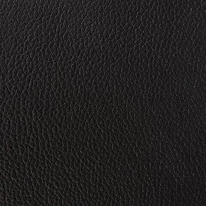 """Стул складной для дома и офиса BRABIX """"Golf Plus CF-003 Комфорт"""", черный каркас, кожзам черный, 531566"""