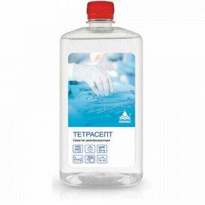 Антисептик для рук и поверхностей спиртосодержащий (15%) 1л НИКА-ТЕТРАСЕПТ, дезинфицирующий, жидкость, КА-00001373