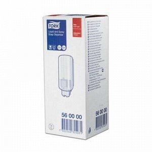 Диспенсер для жидкого мыла TORK (Система S1) Elevation, 1 л, белый, 560000