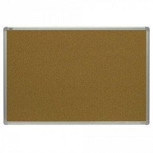 Доска пробковая для объявлений 120x180 см, алюминиевая рамка, 2х3 OFFICE, (Польша), TCA1218