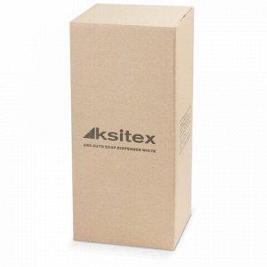 Диспенсер для жидкого мыла СЕНСОРНЫЙ KSITEX, НАЛИВНОЙ, белый, 1,2 л, ударопрочный пластик, ASD-7960W