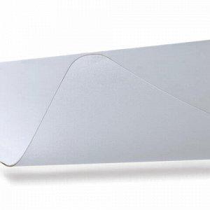 Коврик-подкладка настольный для письма сверхпрочный (560х430 мм), прозрачный, FLOORTEX, FPDE1722R