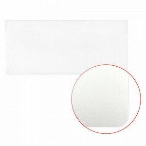 Коврик-подкладка настольный сверхпрочный 500х1200 мм, прозрачный, 1 мм, BRAUBERG, 237372