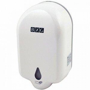 Диспенсер для жидкого мыла СЕНСОРНЫЙ, НАЛИВНОЙ, 1 л, на батарейках AA (не в комплекте), BXG, ADS-1100, ASD-1100