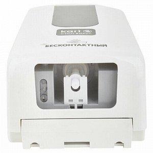 Диспенсер для жидкого антисептика СЕНСОРНЫЙ, 1,2 л, спрей, с поддоном, белый, KARI, F-1406-S-T, b5808070