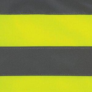 Жилет сигнальный ГОСТ, 4 светоотражающие полосы, ЛИМОННЫЙ, XL (52-54), ПЛОТНЫЙ, ГРАНДМАСТЕР, 610837