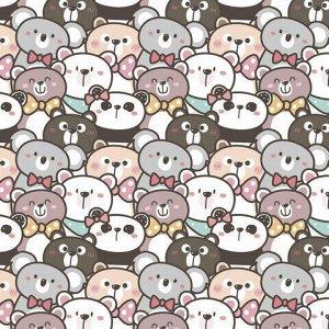 """Бумага упаковочная мелованная 70х100 см ЗОЛОТАЯ СКАЗКА """"Funny Animals"""", 5 дизайнов, 70 г/м2, 591594"""