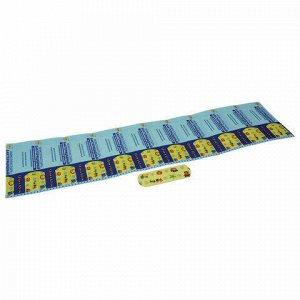 Лейкопластырь бактерицидный LEIKO комплект 1000 шт., 1,9х5,5 см, на полимерной основе, с рисунком, 213674