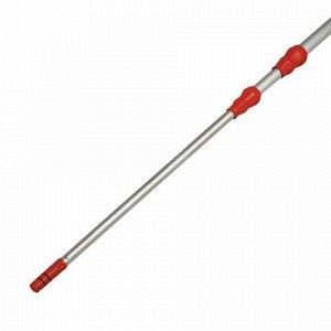 Черенок-ручка VILEDA телескопический, до 2,5 м (2х1,25 м), алюминиевый (применим к 602099, 602101), 500115