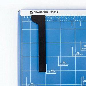 Резак сабельный BRAUBERG TS312 SABER, на 12 л, длина реза 460 мм, металлическое основание, A3, 531801
