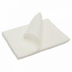 Салфетки одноразовые ЧИСТОВЬЕ нестерильные, комплект 100 шт., 10х10 см, спанлейс 40 г/м2, белые, 00-143