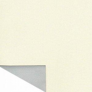 Штора рулонная светонепроницаемая (Блэкаут) BRABIX 50х175 см, кремовый/серебро, 606005