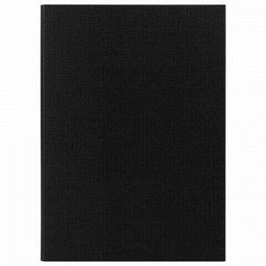 """Папка-планшет STAFF """"EVERYDAY"""", А4 (230х314 мм), с прижимом и крышкой, картон/бумвинил, РОССИЯ, черная, 229053"""