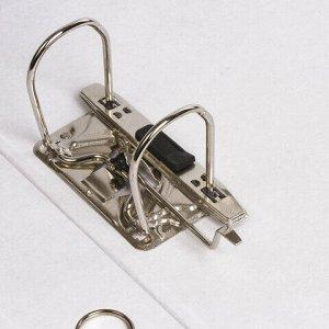 """Папка-регистратор STAFF """"EVERYDAY"""" с мраморным покрытием, 50 мм, без уголка, черный корешок, 224615"""