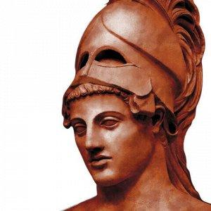Пластилин скульптурный ОСТРОВ СОКРОВИЩ, терракотовый, 1 кг, твердый, 227476