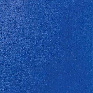 Тетрадь бумвинил А5, 96 л., скоба, офсет №2 ЭКОНОМ, клетка, с полями, STAFF, СИНИЙ, 402019