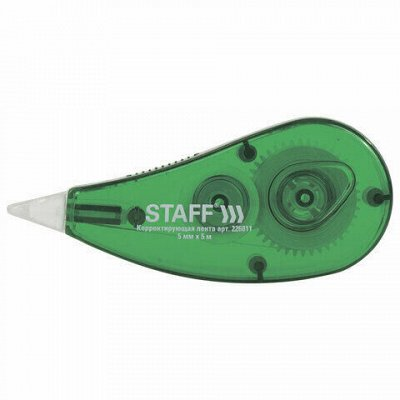 HATBER и ко — яркая качественная доступная канцелярия — STAFF-Ленты корректирующие — Офисная канцелярия