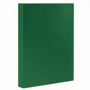 Папка 30 вкладышей STAFF, зеленая, 0,5 мм, 225699