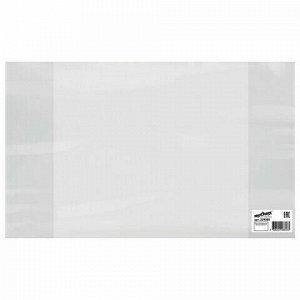Обложка ПВХ для тетрадей и дневников, ЮНЛАНДИЯ, 120 мкм, 208х346 мм, штрих-код, 229305