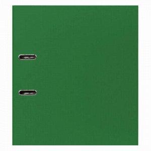 """Папка-регистратор STAFF """"Manager"""" с покрытием из ПВХ, 50 мм, без уголка, зеленая, 225979"""