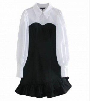 Платье XS грудь 84 см, длина 89 см, рукав 68 см S грудь 88 см, длина 90 см, рукав 69 см M грудь 92 см, длина 91 см, рукав 70 см L грудь 98 см, длина 92,5 см, рукав 71,5 см