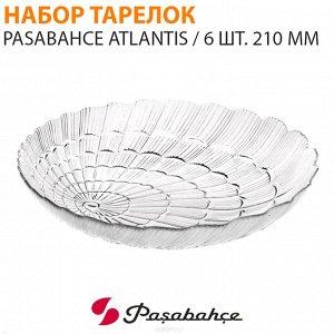 Набор тарелок Pasabahce Atlantis / 6 шт. 210 мм