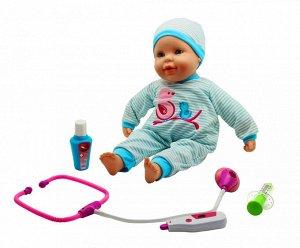 """Кукла """"Пупс"""": озвученная, краснеют щёчки, стучит сердечко"""
