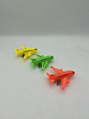 Игрушка инерционная Самолёт 9,2х5х2 см