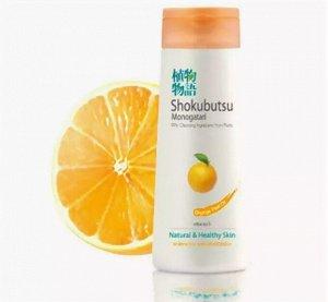 """LION """"Shokubutsu"""" Крем-гель для душа 200мл """"Апельсиновое масло"""", Orange Peel Oil"""