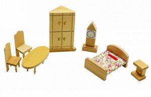 Мебель для кукол Спальня с часами