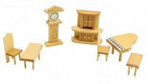 Мебель для кукол Гостинная с роялем