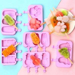 Форма двойная/тройная для мороженого,  сладкого льда
