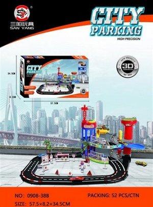 Игровой набор Парковка OBL795533 0908-38B (1/12)