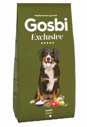 GOSBI EXCLUSIVE LAMB MAXI сухой корм для собак крупных пород Ягненок 3кг   Сухие. Корма для собак