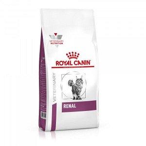 Royal Canin Renal диета сухой корм для кошек от 1 года с хронической почечной недостаточностью, 400г