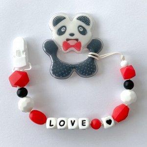 Грызунок на держателе Панда