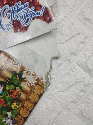 Уп. Домик бол. Мастерская Деда Мороза С ИГР. ПРИЛ. НАРЯДИ ЕЛОЧКУ AR (5000 гр), 30,5х15х47
