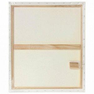 Холст на подрамнике BRAUBERG ART CLASSIC, 70х90см, грунтованный, 100% хлопок, крупное зерно 191026