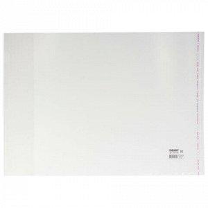 Обложки ПП для учебников ПИФАГОР, комплект 5 шт., универсальные, клейкий край, 80 мкм, 280х450 мм, 227418