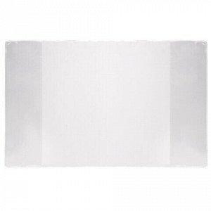 Обложки ПВХ для учебников старших классов ПИФАГОР, комплект 5 шт., прозрачные, плотные, 100 мкм, 233х330 мм, 227482