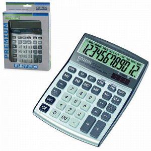Калькулятор настольный CITIZEN CDC-112WB, МАЛЫЙ (175x130 мм), 12 разрядов, двойное питание
