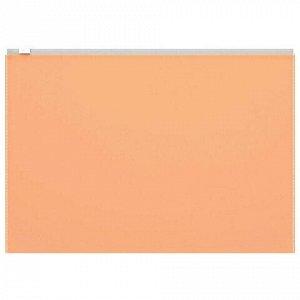 """Папка-конверт на молнии B5 (289х214 мм), неоновая, ассорти, 0,14 мм, ERICH KRAUSE """"Fizzy Neon"""", 44420"""