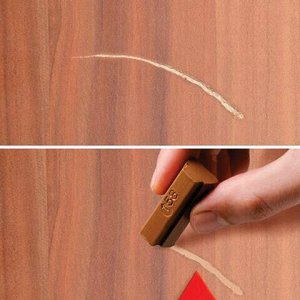 Воск для ремонта мебели EDDING 8901 НАБОР 3 шт., ГРЕЦКИЙ ОРЕХ (3 оттенка), шпатель, E-8901/3-B/602