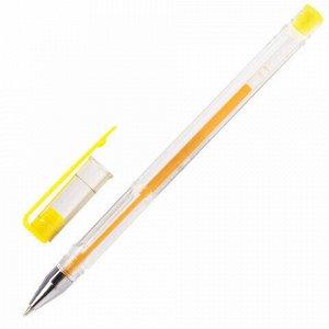 Ручки гелевые ПИФАГОР, НАБОР 10 шт. АССОРТИ, корпус прозрачный, узел 0,5 мм, линия письма 0,35 мм, 142794
